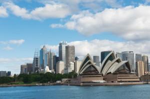 Flybillet til Sydney